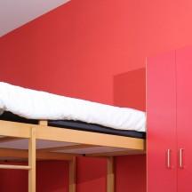 Espace Belvaux - Les chambres
