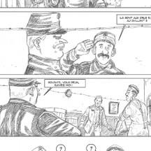 Comme en Quatorze - Georges Van Linthout (crayonné planche 3)