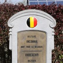 Cimetière de Boncelles - Tombe d'un militaire inconnu