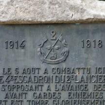 Monument Commandant Menten à Plainevaux (Neupré)
