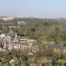 Panorama de Liège vue depuis le Mémorial Interallié de Liège