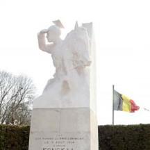Statue Cavalier Fonck (Thimister)
