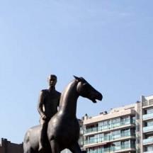 Statue équestre du Roi Albert Ier, Liège