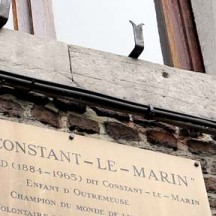 Plaque Constant le Marin, rue Puit en Sock