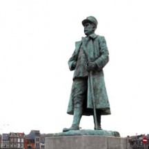 Statue Général Bertrand à Liège