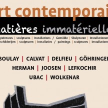 'A Contemporary Art Exhibition : Intangible Materials'