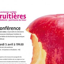 'Variety of fruit in Wallonia' (lecture)