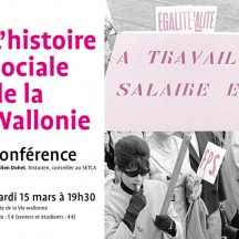 'Social History in Wallonia' (lecture)