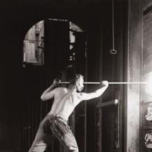 Ouvrier travaillant au four à coke/G.Marissiaux. Liège (?)1904