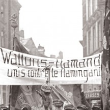 Manifestation étudiants liégeois/A.Henrion (1928)