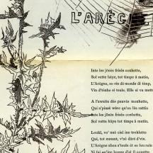L'arègne, écrit et illustré par Henri Simon