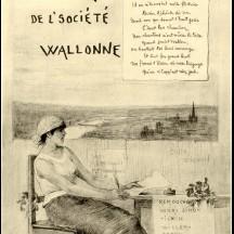 Affiche de la 22e heureye de la SLLW, 1889
