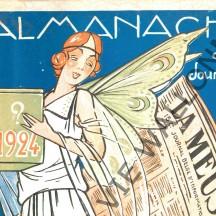 Almanach du Journal la Meuse, Liège - 1924
