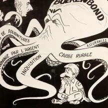 Affiche de propagande pour le Rassemblement wallon (1971)