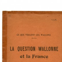 Brochure de Raymond Colleye (1918)