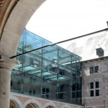 Le bâtiment du Musée de la Vie wallonne