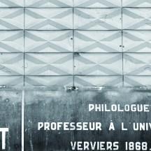 Plaque de la rue Jean HAUST