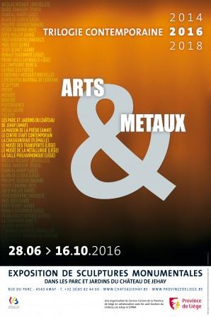 affiche lieux Arts et métaux