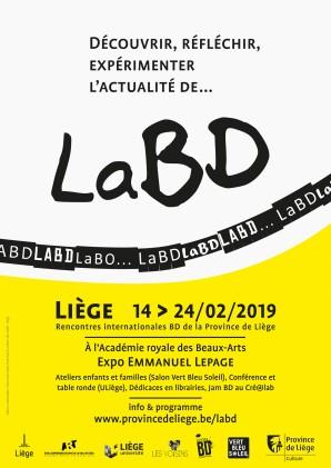 LaBD Rencontres internationales Province de Liège 14-24/02/2019