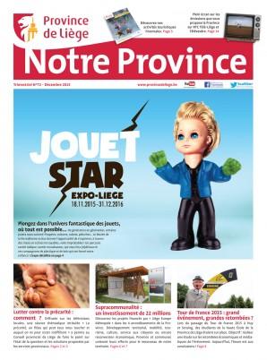 Notre Province n°72 - Décembre 2015