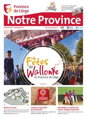 Notre Province n°79 septembre 2017