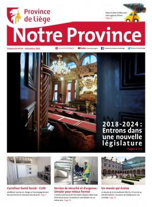 Notre Province n°84 - Décembre 2018