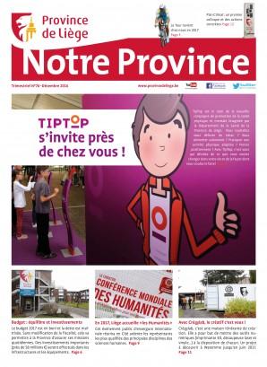 Notre Province n°76 - Décembre 2016