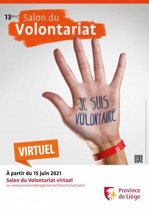 Affiche salon du volontariat