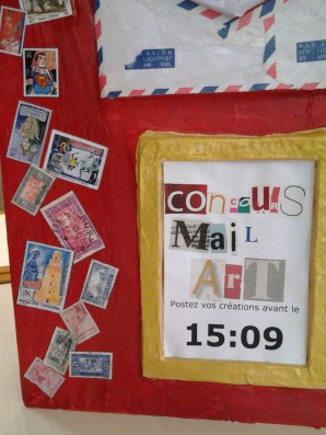Concours mail art