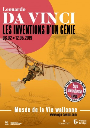 Leonardo Da Vinci Promotional Poster