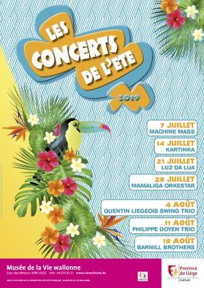 Concerts de l'été 2019