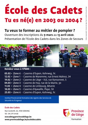 Affiche Cadets 2020