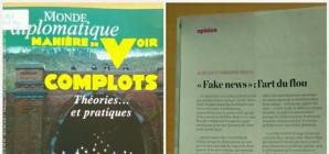 Fake news et théories du complot dans la presse des dernières semaines