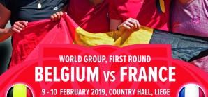 La Fed Cup de retour à Liège !