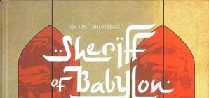Nous avons aimé... Sheriff of Babylon / de Tom King et Mitch Gerards