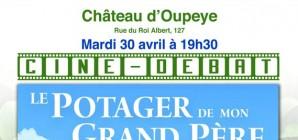 """Ciné-débat """"Le potager de mon grand-père"""" au Château d'Oupeye"""