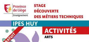 Stage d'été à l'IPES de Huy du 26 au 30 août !