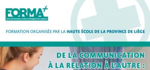 """Formation: """"De la communication à la relation à l'autre: privilégier la relation"""""""