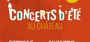 Concerts d'été au Château de Jehay