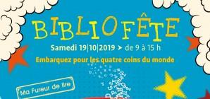 """Bibliofête : """"Embarquez pour les quatre coins du monde"""" (Fureur de lire 2019)"""