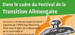 L'IPEPS Huy-Waremme au Festival de la Transition Alimentaire avec le Soupe Challenge !