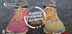 C'est parti pour une nouvelle saison à l'Académie provinciale des Sports !
