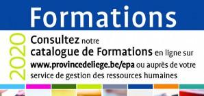 Le nouveau catalogue des formations pour les agents des pouvoirs locaux est disponible!