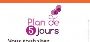 Plan de 5 jours - Novembre 2020