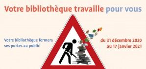 Votre bibliothèque TRAVAILLE pour VOUS (Nouveau portail)