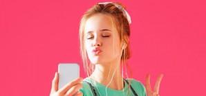 La star des réseaux sociaux chez les jeunes : TikTok.