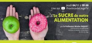 JeudiSanté en LIVE : Le sucre de notre alimentation