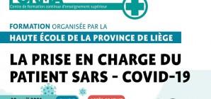 La prise en charge du patient SARS - COVID - 19