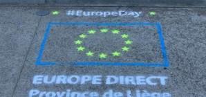Pas à pas, Europe Direct Province de Liège à la rencontre des citoyens