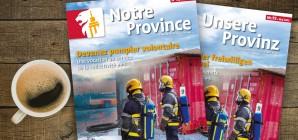 """Le nouveau numéro de """"Notre Province"""" est disponible!"""